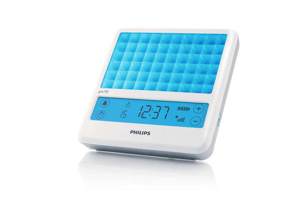 Top 1: Philips goLITE BLU Light Therapy Device